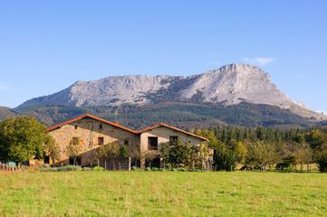 houses in Olaeta near Anboto peak