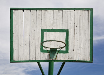 basket-ball shield