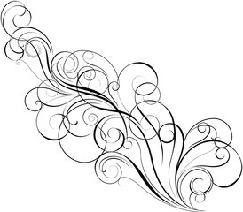 Diagonal swirl design