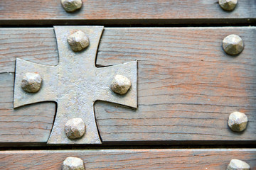 cross lombardy   seprio abstract     a  door curch  closed wood