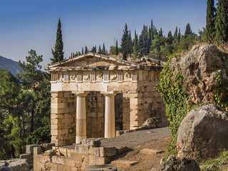 The Treasury, Delphi, Greece