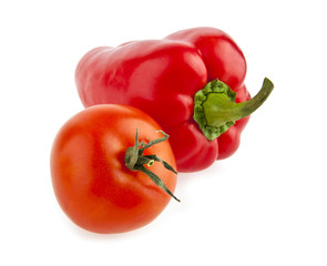 pepper and tomato
