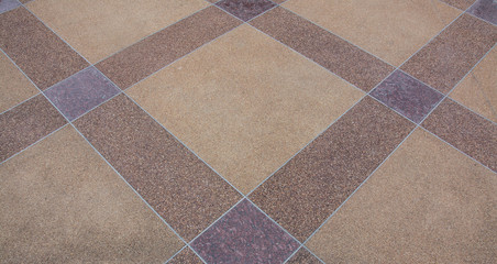 outdoor  pattern floor