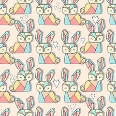 cute bunny pattern
