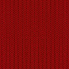 Vector modern red seamless knitted texture