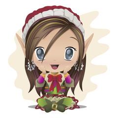 Adorable elf