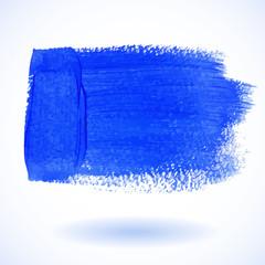 Blue Watercolor Banner. Vector illustration