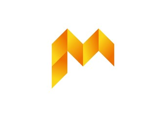 arrows,finance,geometry,logo,letter M,square,construction