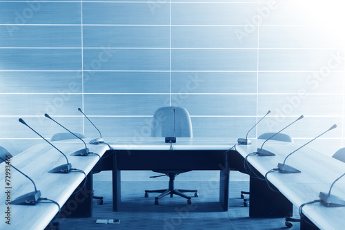 Conference room tables and chairs - 72993466