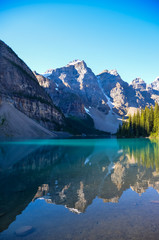 Moraine Lake in Morning
