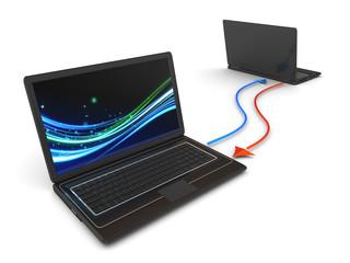 Wireless computer network