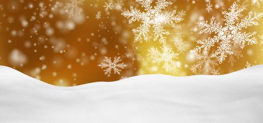 Weihnachtskarte, Weihnachten, Hintergrund, Winter, Goldgelb, BG