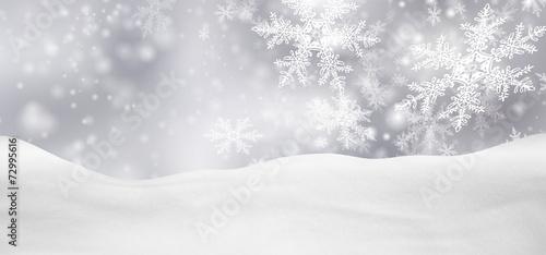 Zdjęcia na płótnie, fototapety, obrazy : Weihnachtskarte, Weihnachten, Hintergrund, Winter, Silber, Grau
