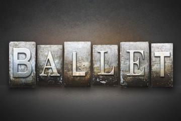 Ballet Letterpress