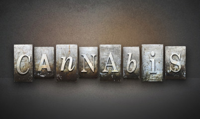 Cannabis Letterpress