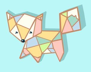 cute fox card