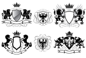 Heraldry coat of arms