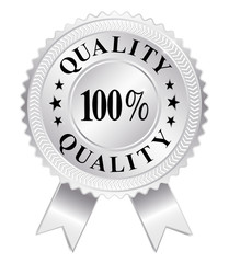 100% Quality (Silver)