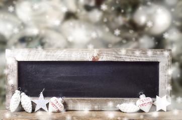Weihnachten, Schild, schabby, Deko