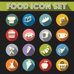 Basic Food Icons