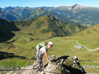 Kleinwalsertal - Klettersteig Kanzelwand