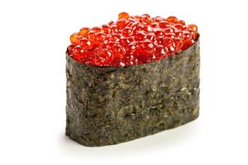 Ikura Gunkan maki sushi