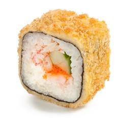 Crab tempura maki japanese roll