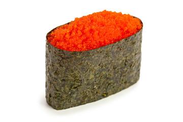 Tobiko Gunkan maki sushi