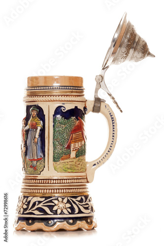 canvas print picture Musical german beer stein