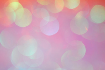 blurry bokeh pastel color background