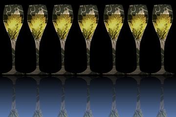 Champagne - Buffet Champenois