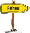 canvas print picture - Rathaus...