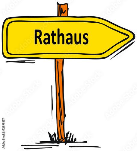 canvas print picture Rathaus...