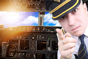 Furious pilot draws attention to the intolerable passengers