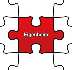 gpn gpn7 GrafikPuzzleNahtlos gpn-v2 - Eigenheim rot g2516