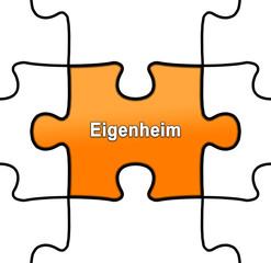 gpn gpn8 GrafikPuzzleNahtlos gpn-v2 - Eigenheim orange g2517