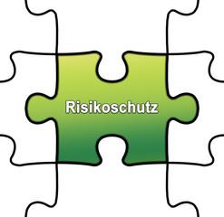 gpn9 GrafikPuzzleNahtlos gpn-v3 - Risikoschutz grün g2518
