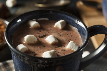 Homemade Dark Hot Chocolate
