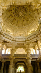 Ranakpur Jain Temple inner dome