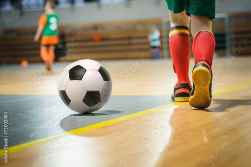 Papiers peints Magasin de sport football training for children