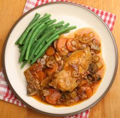 Chicken Casserole with Green Beans