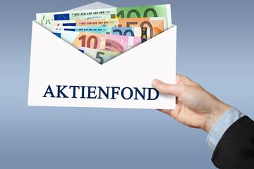 Aktienfond - Umschlag