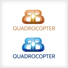 Abstract illustration of sign for Quadrocopter