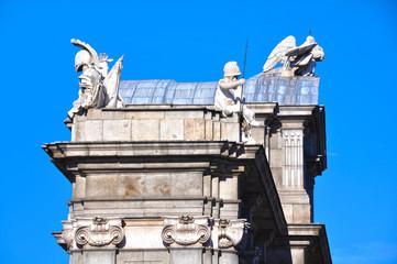 Madrid, Puerta de Alcalá, Carlos III, Sabatini