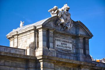 Puerta de Alcalá, Madrid, Carlos III, neoclasicismo