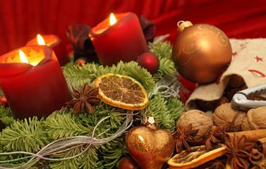weihnachtliche Szene