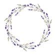 lavender wreath - 73005458
