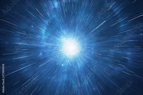 Deep space travel supernova