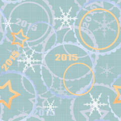 Winter 2015 seamless pattern background
