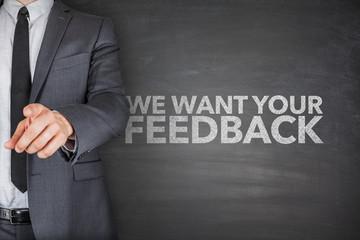 We want your feedback on blackboard